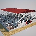 """Kỹ thuật xây dựng chuồng trại của """"vua lợn rừng"""" đất Bắc"""